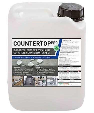 Countertop Pro, impregnante impermeabilizzante Oleo-Idrorepellente per Top Cucina e Piani Lavoro