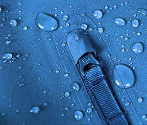 tessuto impermeabile, idrorepellente, effetto goccia, trattamento DWR