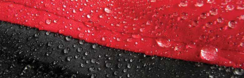 trattamento idrorepellente, impermeabilizzante tessuto, giacca sportiva