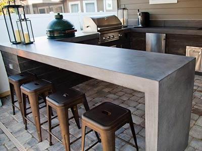 idrorepellente banco cucina, oleofobico, protegge da grasso, impermeabilizzante mobili cucina, cemento