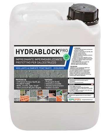 Hydrablock Pro, impregnante impermeabilizzante calcestruzzo, impregnante calcestruzzo, impermeabilizzante calcestruzzo