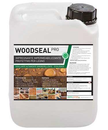 Woodseal Pro, impregnante impermeabilizzante legno, idrorepellente, legno